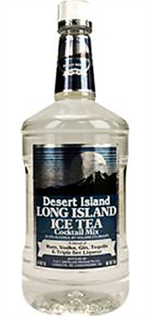 Desert Island Long Island Iced Tea Cocktail 75@